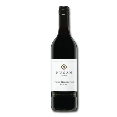 NUGAN ESTATE THIRD GENERATION SHIRAZ 75CL