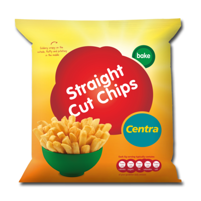 Centra Straight Cut Chips 1.5kg