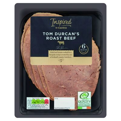 Inspired by Centra Premium Tom Durcan Roast Beef 80g