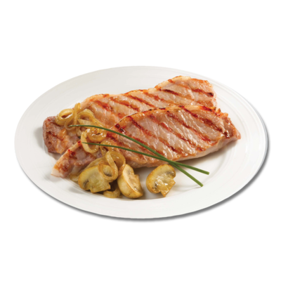 CENTRA FRESH IRISH DRY CURE BACON CHOP WITH MUSTARD BUTTER 384G