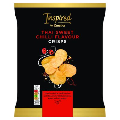 Inspired by Centra Thai Sweet Chilli Crisps 125g