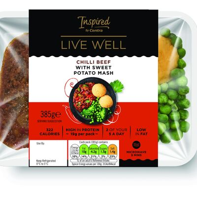 Inspired by Centra Live Well Chilli Beef 385g