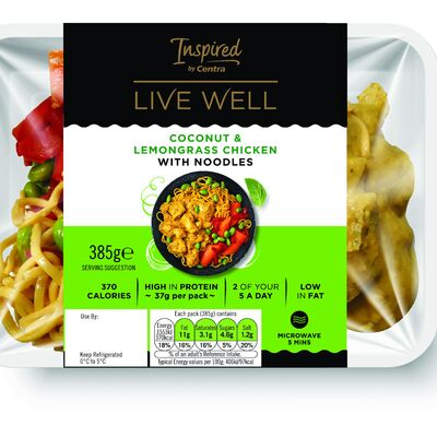 Inspired by Centra Live Well Coconut Chicken 385g