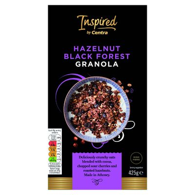 Inspired by Centra Hazelnut Blackforest Granola 425g