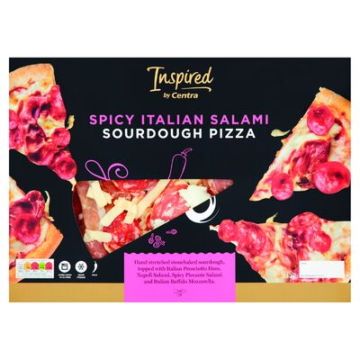 INSPIRED BY CENTRA SPICY ITALIAN SALAMI PIZZA 530G