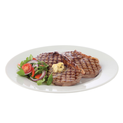 CENTRA FRESH IRISH STRIPLOIN STEAK 2 PACK 360G