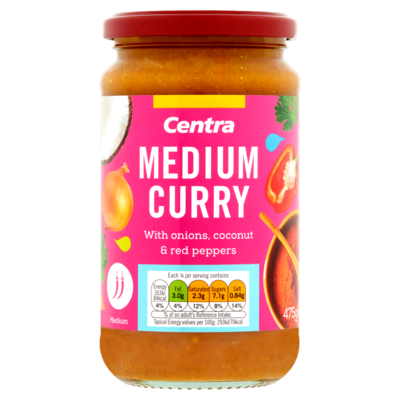 Centra Medium Curry Sauce 475g