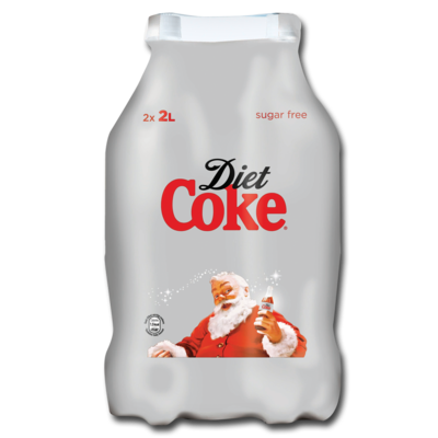 Diet Coke Twin Pack 2ltr