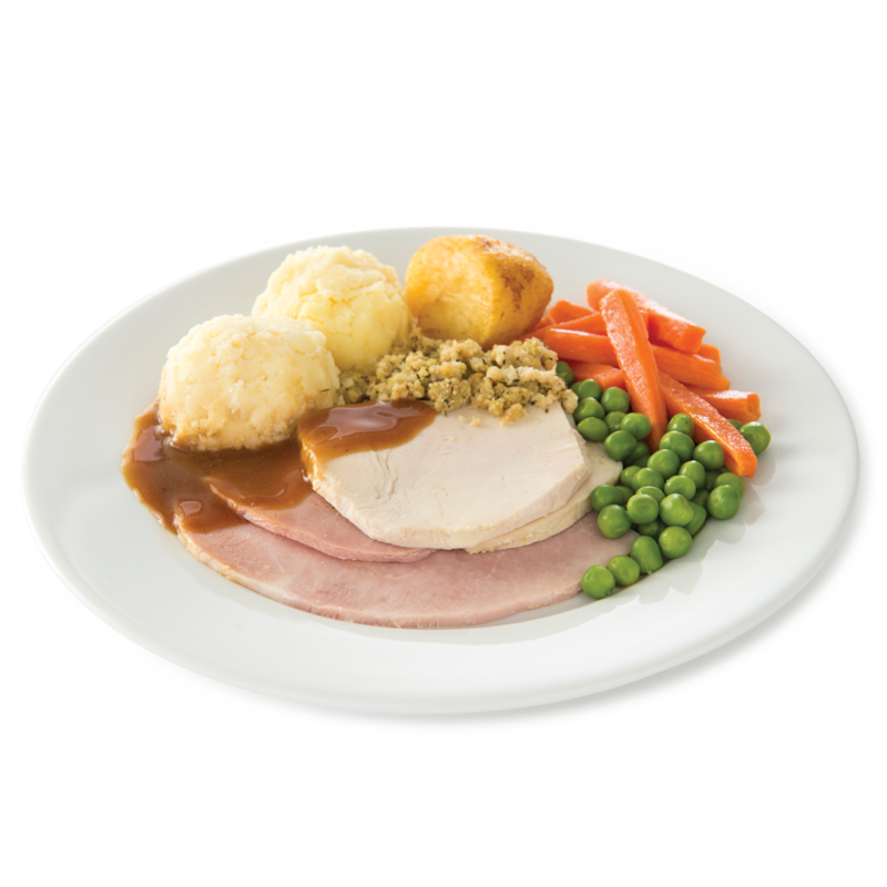 Centra turkey ham dinner