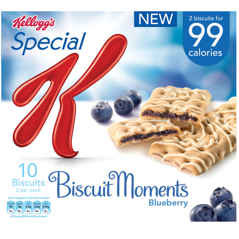 Kelloggs SpecialK BiscuitMomentsBlueberry 96g 125g