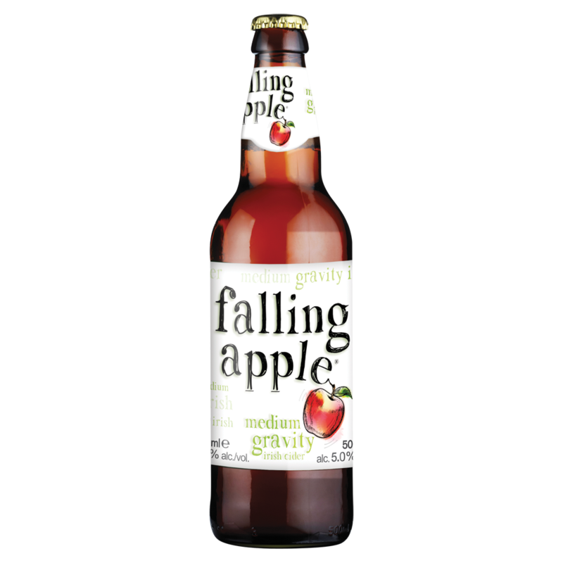 01 Falling Apple Medium Gravity Irish Cider