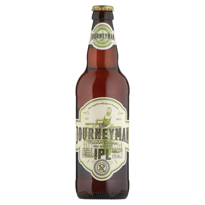 The Journeyman India Pale Lager IPL 500ml 5391528371181