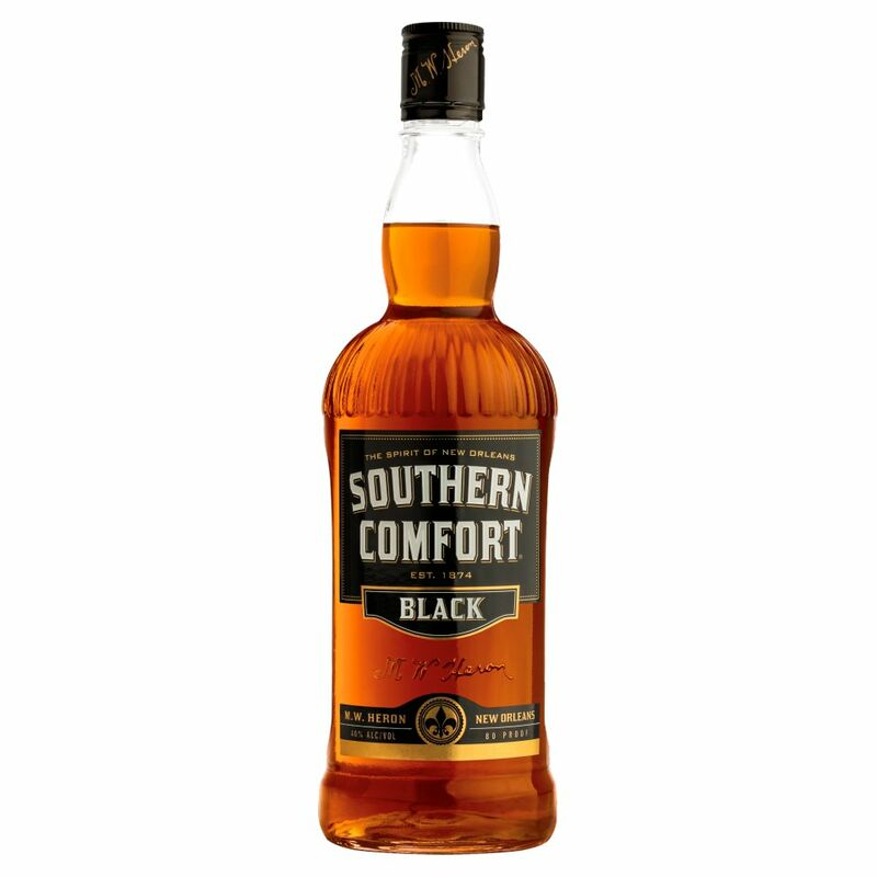Southern Comfort Black Liqueur with Whiskey 70cl