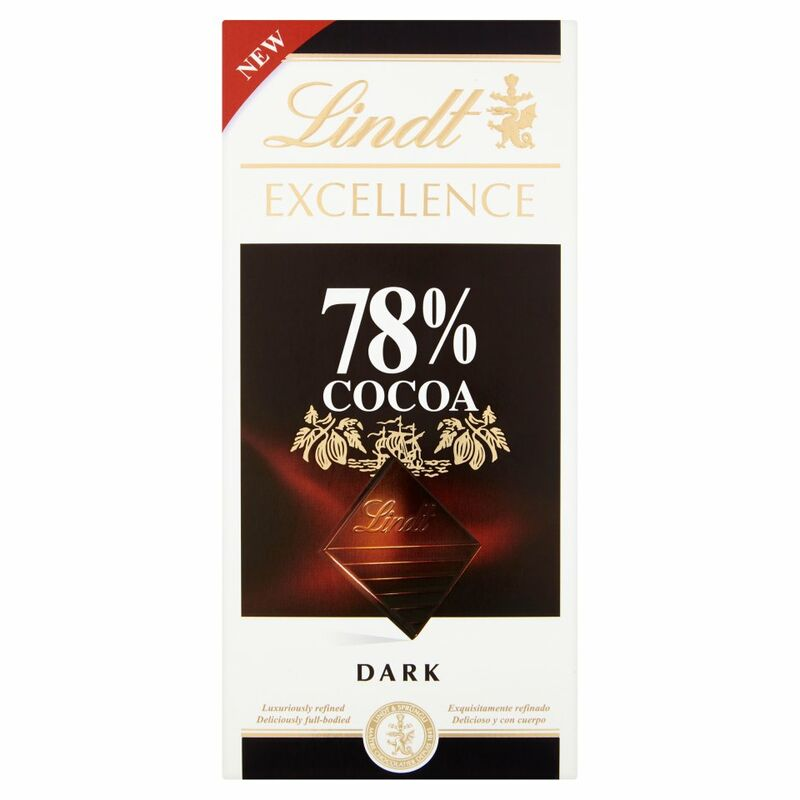 Lindt Excellence Dark 78% Cocoa 100g