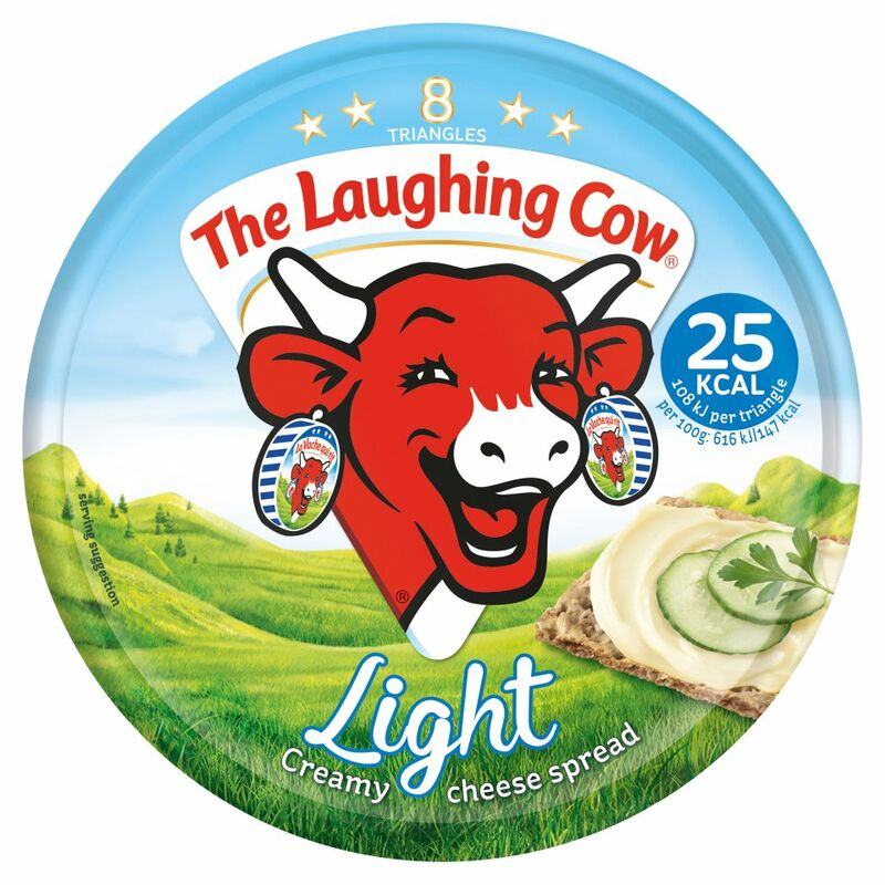 The Laughing Cow Light Cheese Spread 8 Triangles 140g