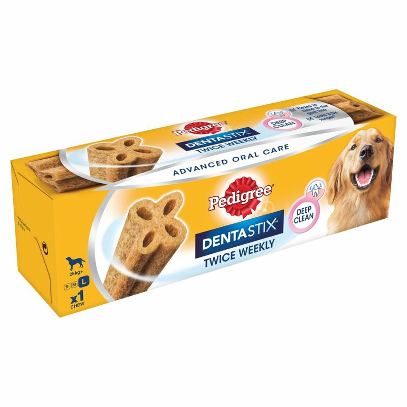 PEDIGREE Dentastix Twice Weekly Large Dog Dental Chew 1 Stick