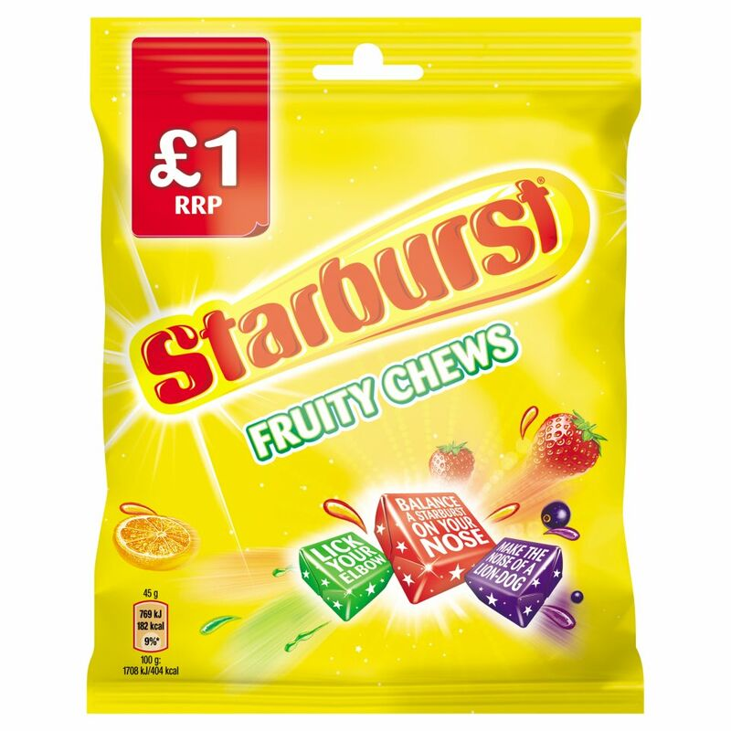 Starburst Fruit Chews 150g