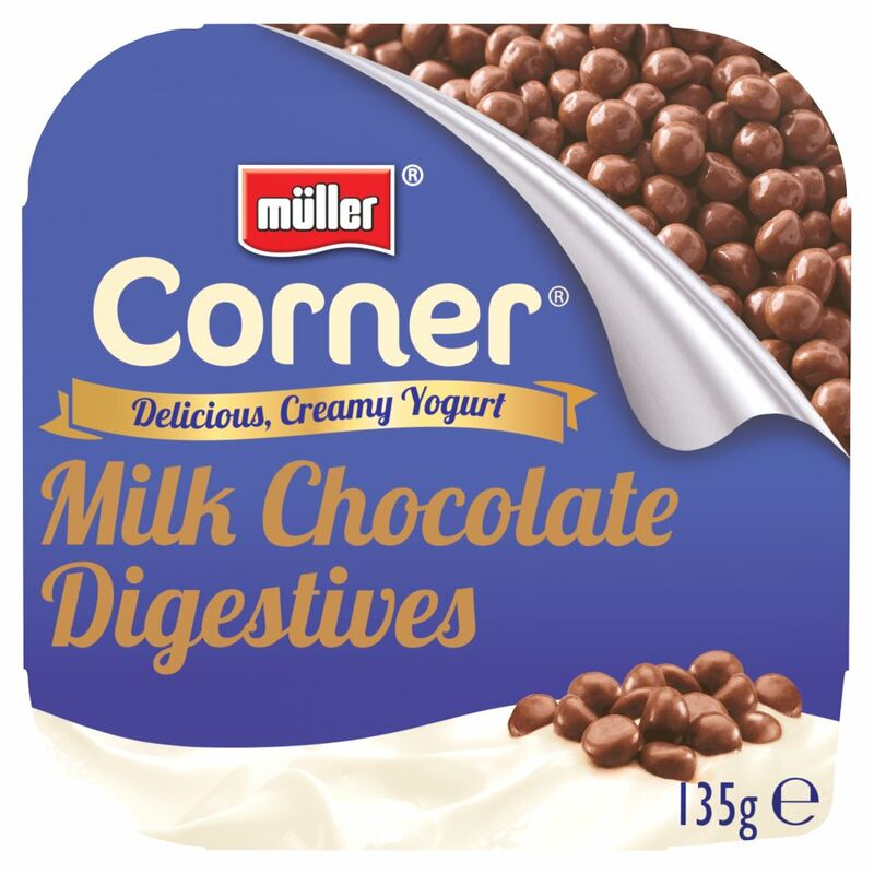 Müller® Corner® Milk Chocolate Digestive Yogurt 135g