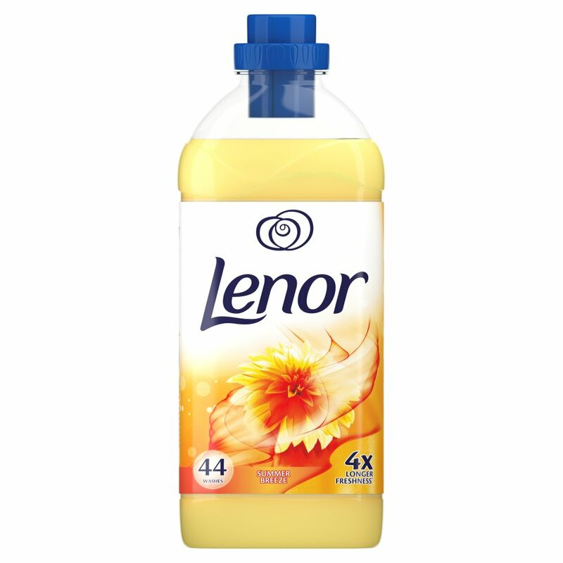 Lenor Fabric Conditioner Summer Breeze Scent 44 Washes