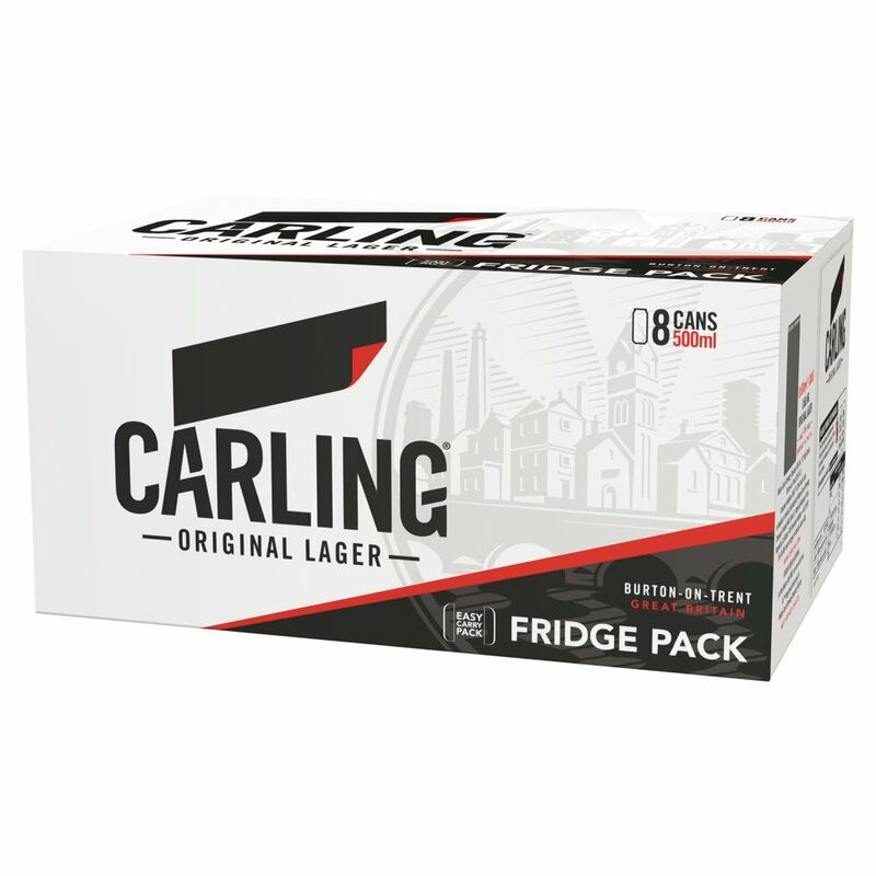 Carling Lager 8 x 500ml