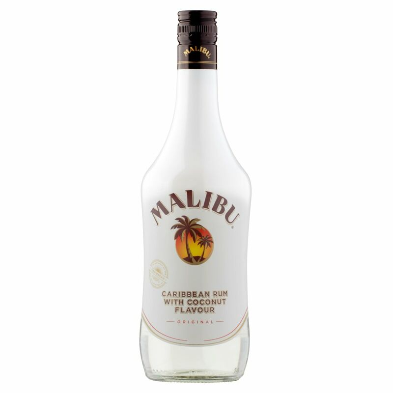 Malibu Caribbean Rum with Coconut Flavour Original 70cl