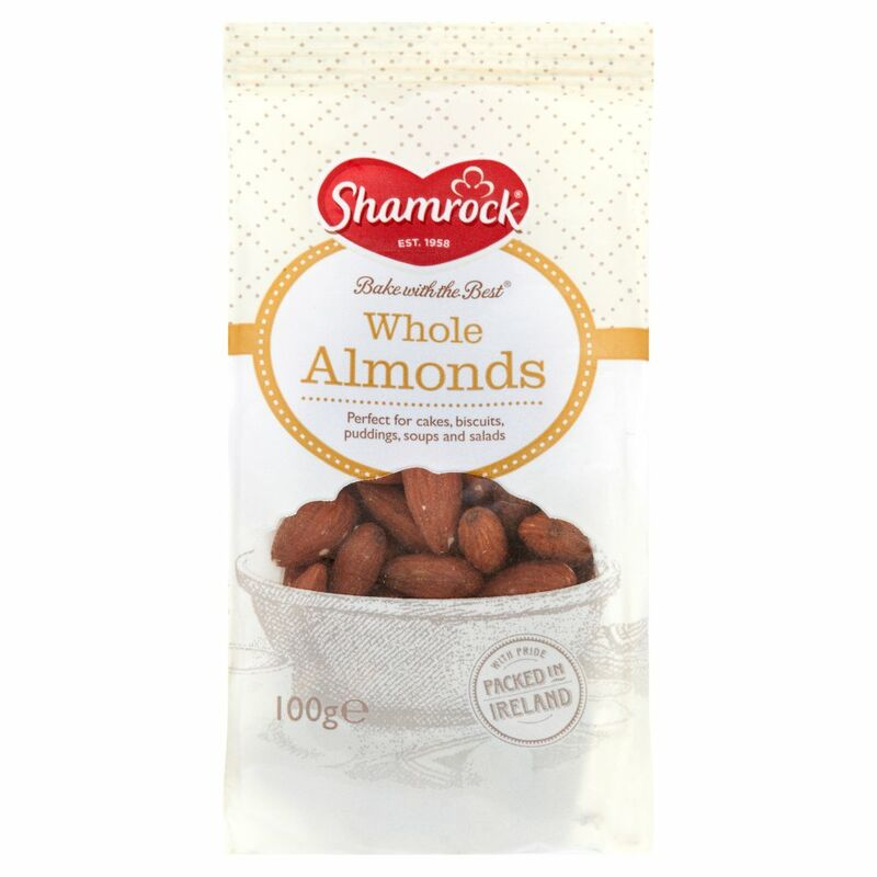 Shamrock Whole Almonds 100g