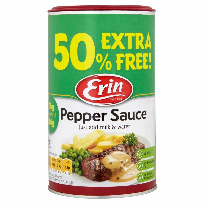 Erin Pepper Sauce 216g