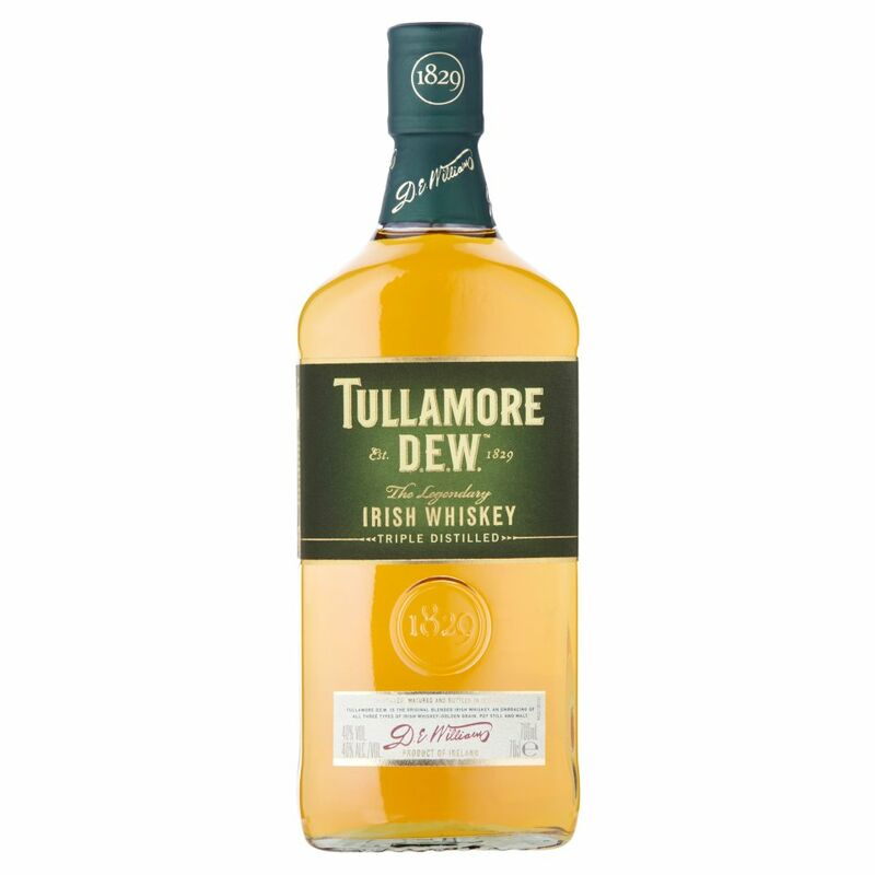 Tullamore D.E.W. Irish Whiskey 70cl