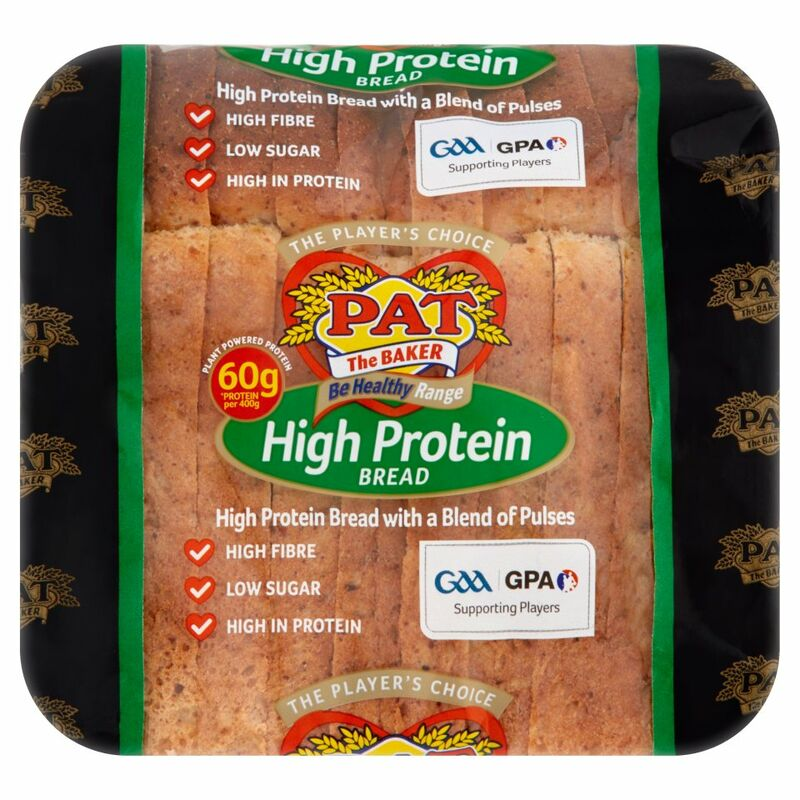 Pat the Baker Be Healthy Range High Protein Bread 400g
