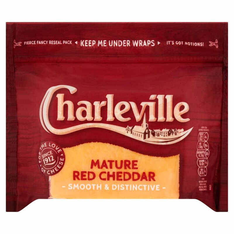 Charleville Mature Red Cheddar 200g