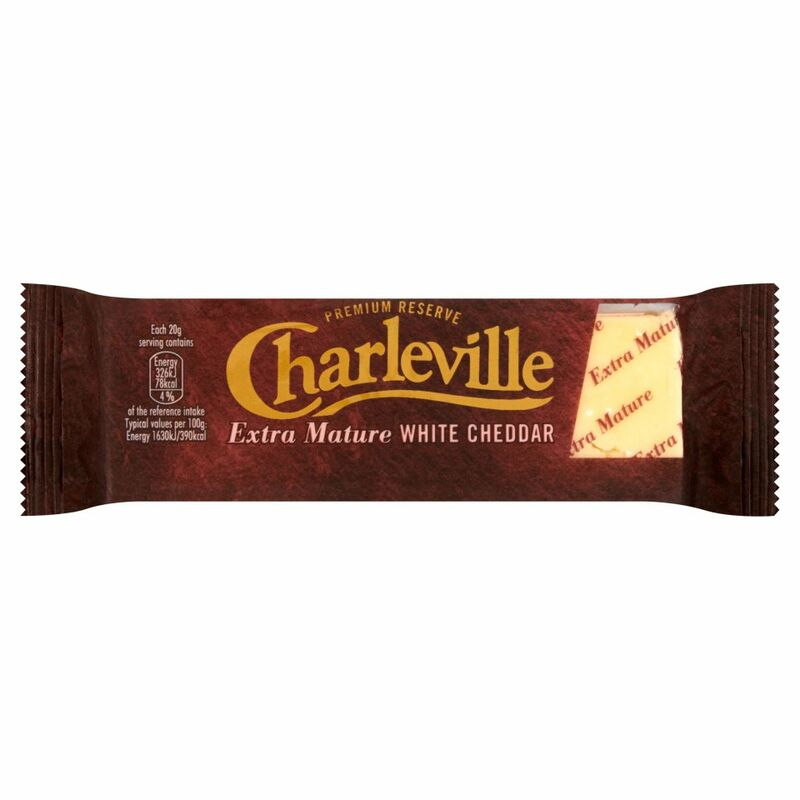 Charleville Extra Mature White Cheddar 200g