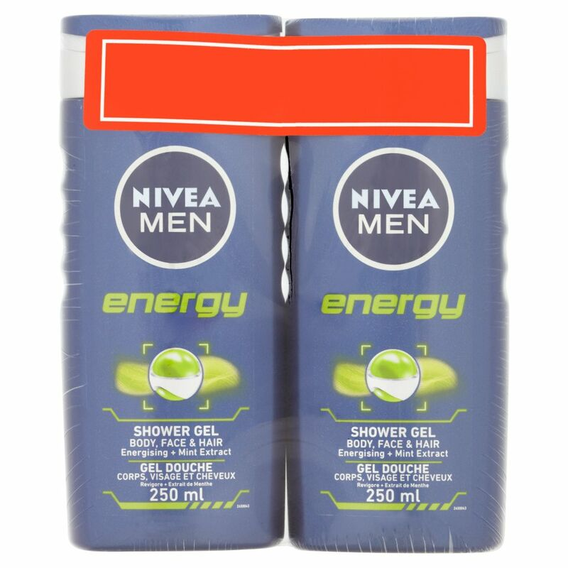 NIVEA® MEN Energy Shower Gel 250ml