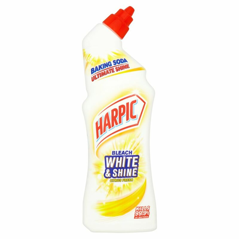 Harpic White & Shine Bleach Citrus Fresh 750ml
