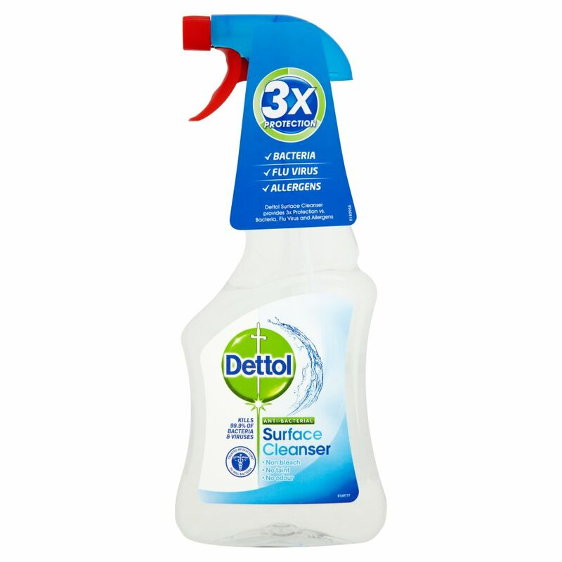 Dettol Antibacterial Spray Surface Cleanser 500ml