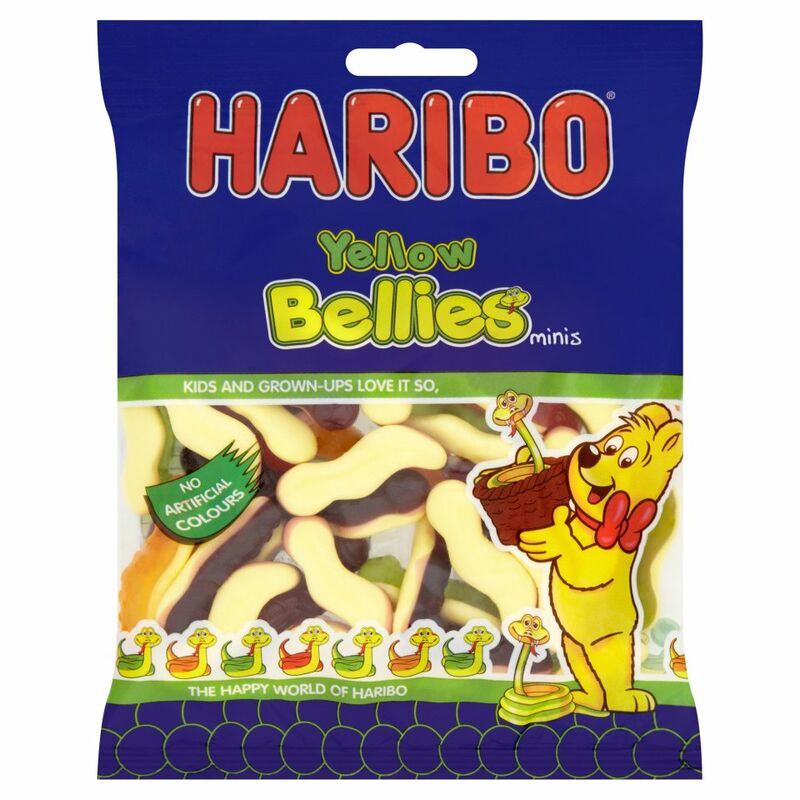 HARIBO Yellow Bellies Minis 150g