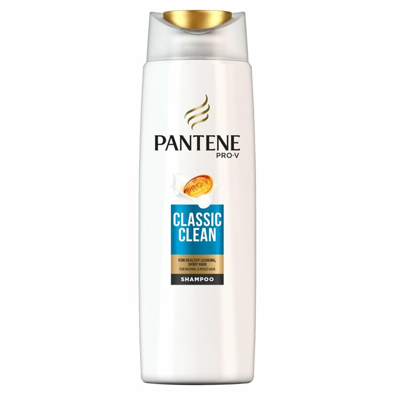 Pantene Pro-V Classic Clean Shampoo For Normal To Mixed Hair 250ML