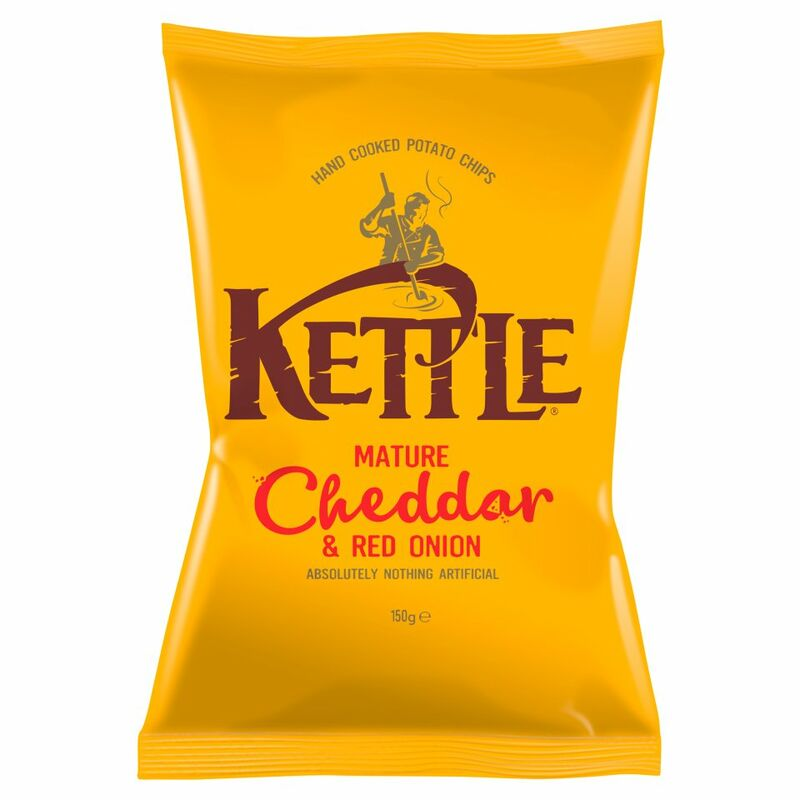 KETTLE® Mature Cheddar & Red Onion 150g