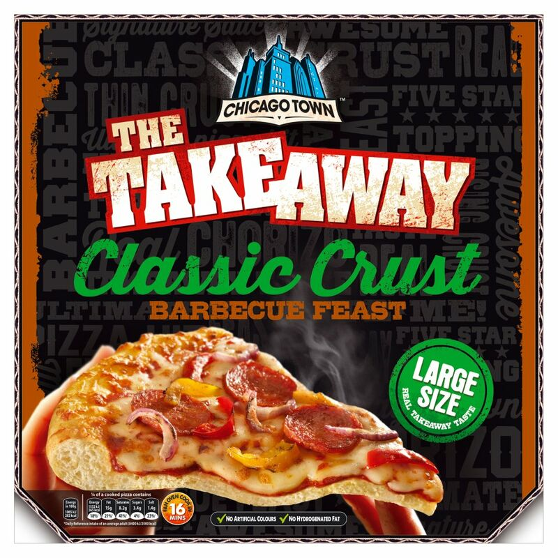 Chicago Town The Takeaway Barbecue Feast Classic Crust 540g