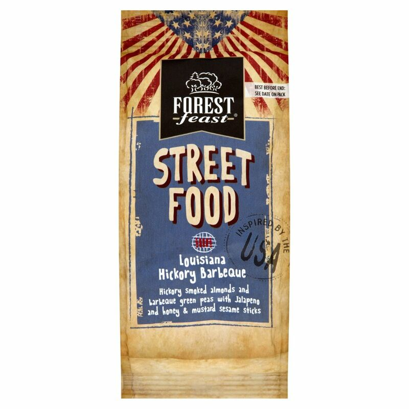 Forest Feast Street Food Louisiana Hickory Barbeque 140g