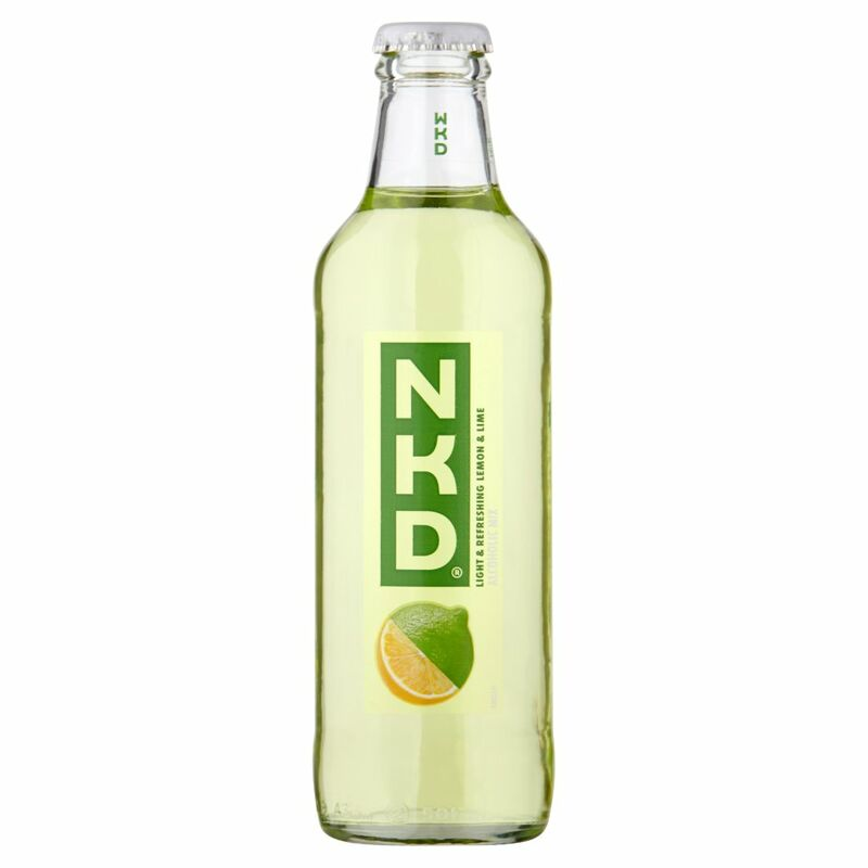 WKD NKD Lemon & Lime 275ml