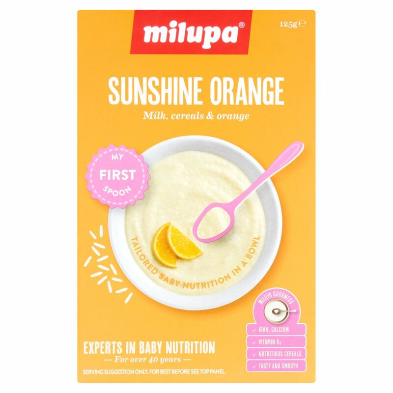 Milupa Sunshine Orange My First Spoon 125g