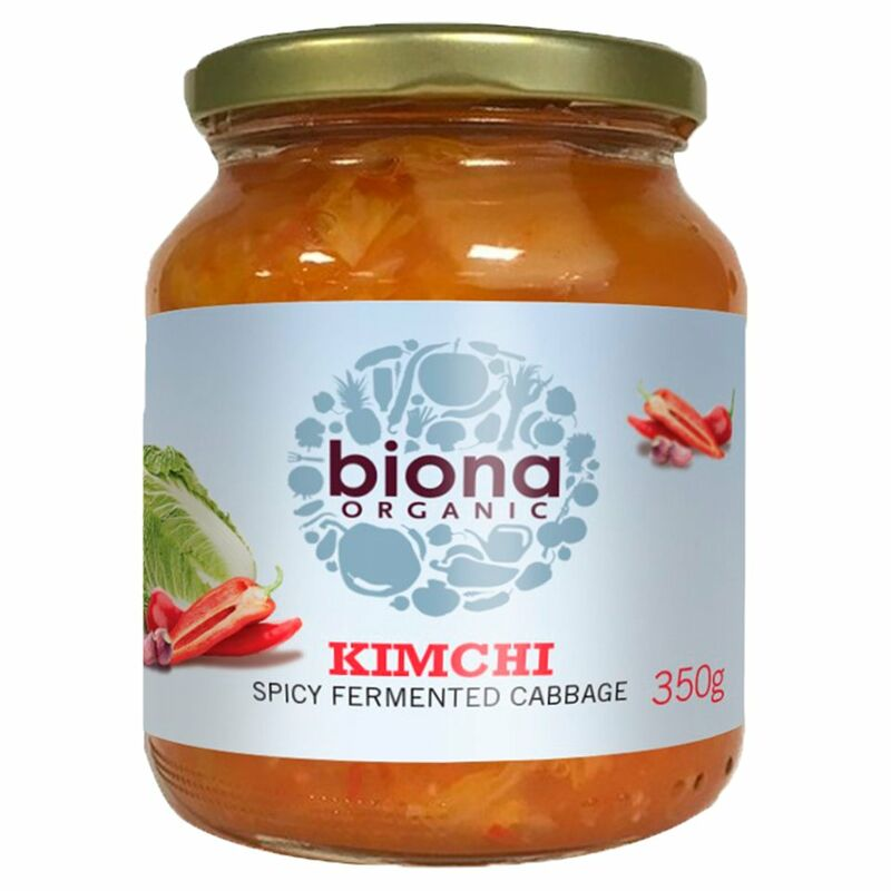 Biona Organic Kimchi Spicy Fermented Cabbage 350g