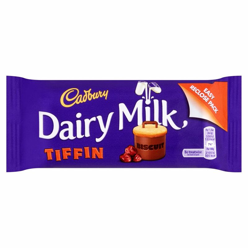 Cadbury Dairy Milk Tiffin 53g