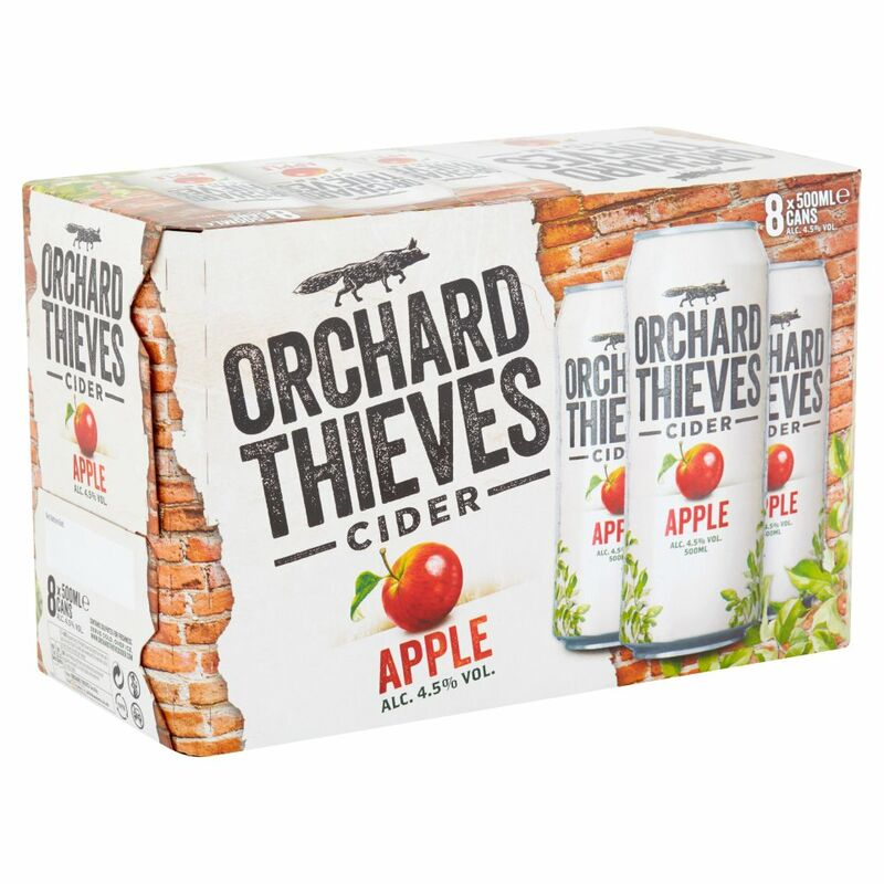 Orchard Thieves Cider Apple 8 x 500ml