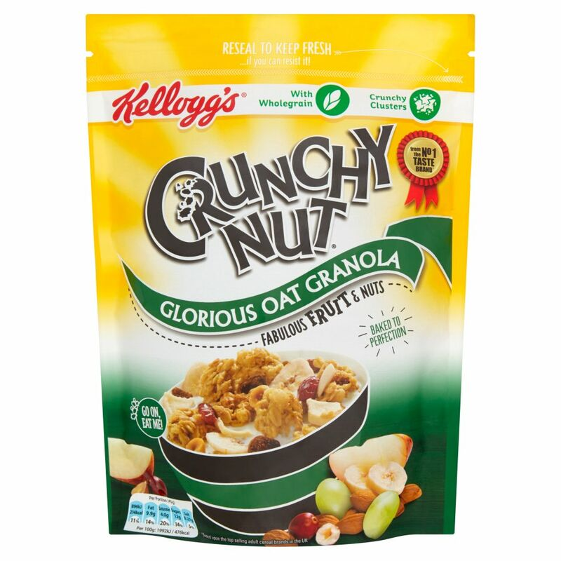 Kellogg's Crunchy Nut Oat Granola Fruit and Nuts 380g