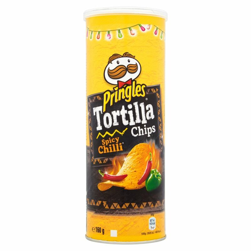 Pringles Tortilla Chips Spicy Chilli 160g