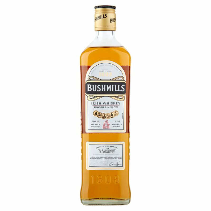 Bushmills Irish Whiskey 70cl