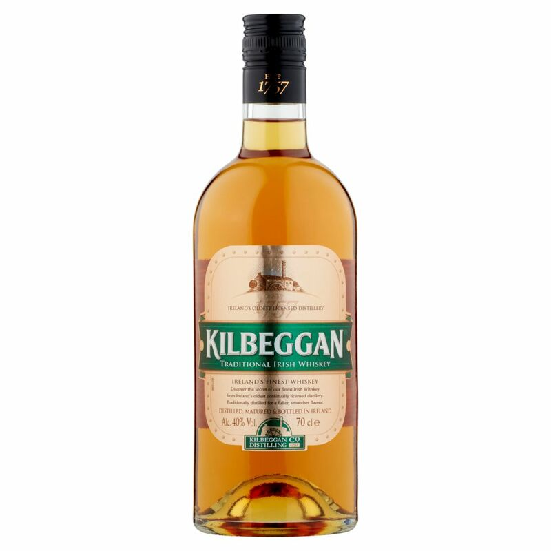 Kilbeggan Traditional Irish Whiskey 70cl