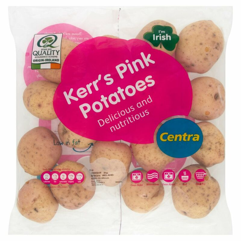 Centra Kerr's Pink Potatoes 2kg