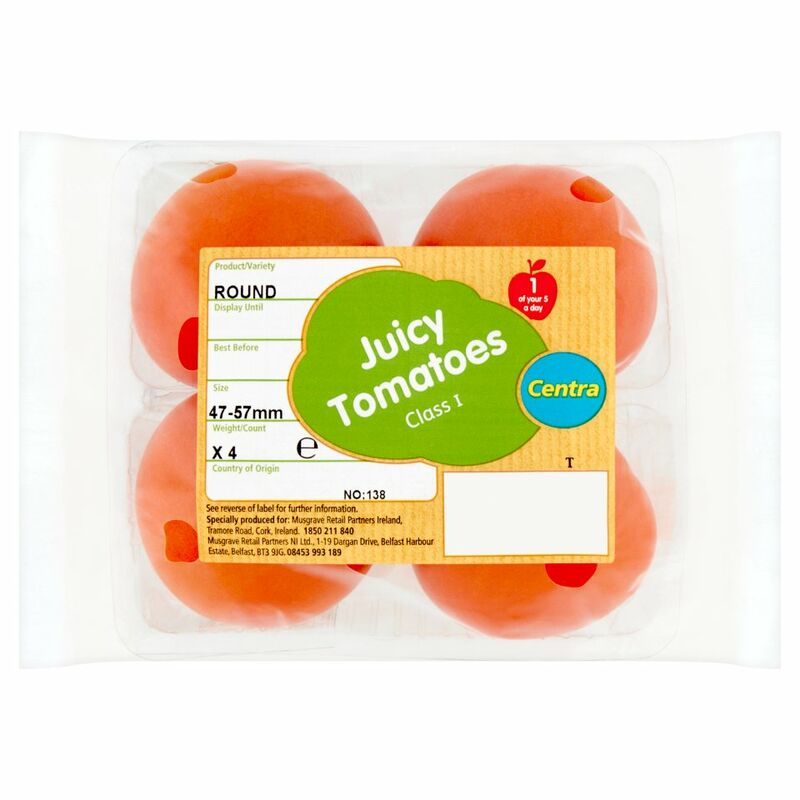 Centra Tomatoes x 4
